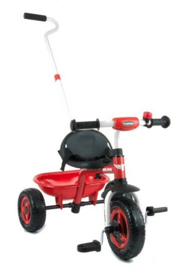 Turbo driewieler Junior Rood/Zwart