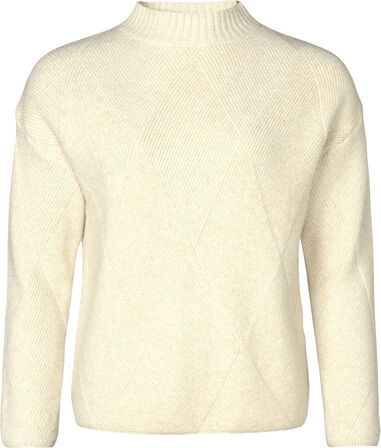 Geisha 94537-22 pullover turtle neck with lurex