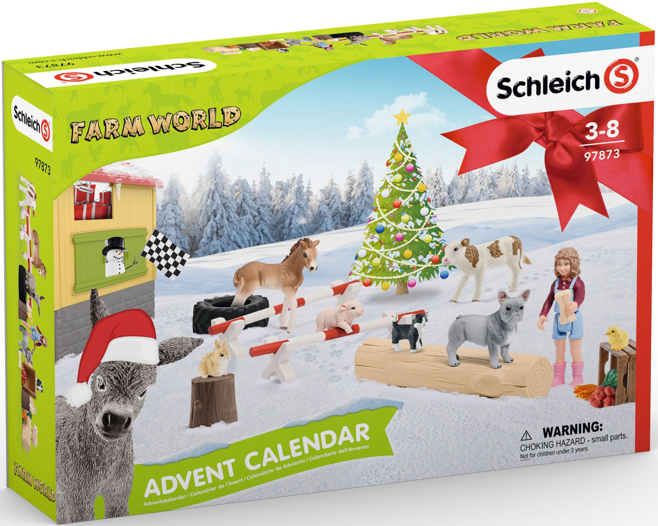 Adventskalender Farm World Schleich 2019