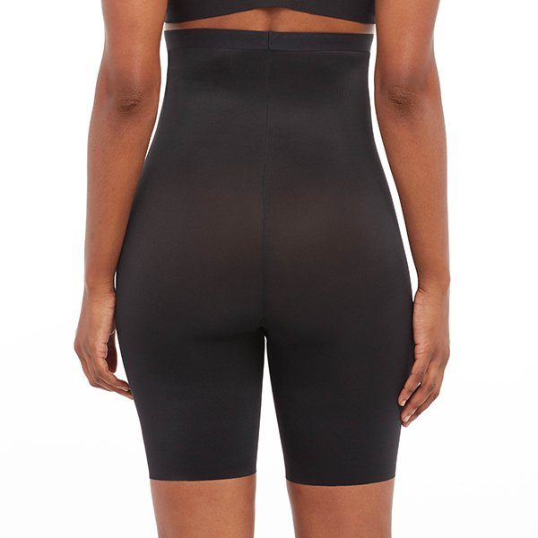 spanx - thistincts - high waisted mid thigh short