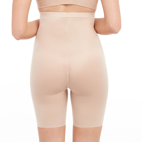 spanx - thinstincts - high waisted mid thigh short